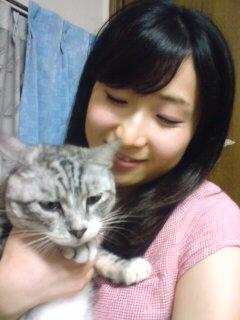 実家の猫と妹
