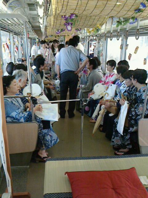江ノ島電鉄ゆかたウォーク