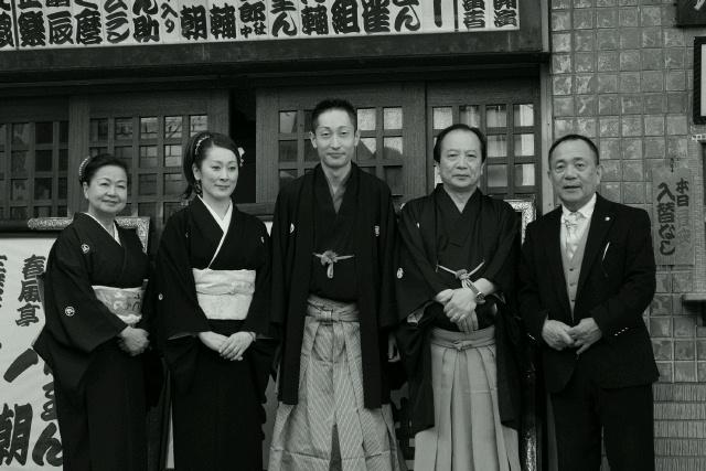 谷中慕情/挨拶回り・記者会見
