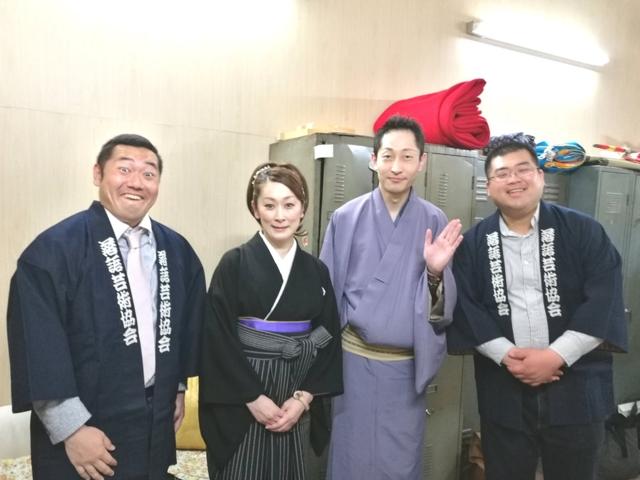 桂夏丸・神田蘭♪真打昇進披露興行5月中席6日目